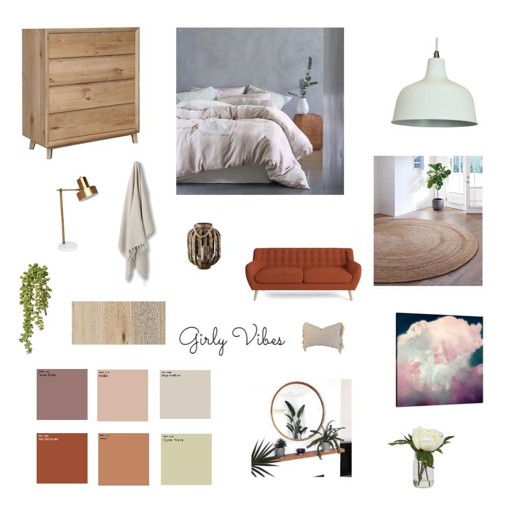 Bedroom - Girly Vibes Mood Board by JaimeeAitken on Style Sourcebook