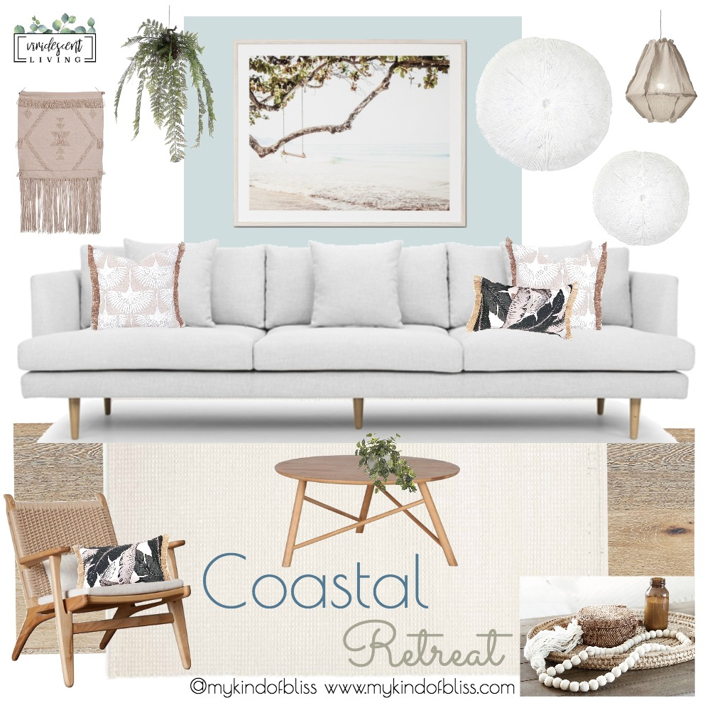 Coastal Retreat Mood Board by My Kind Of Bliss on Style Sourcebook
