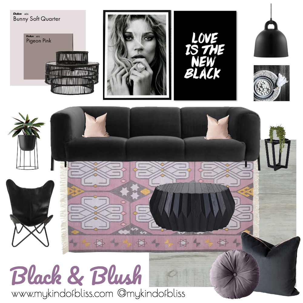The Black Edit Mood Board by My Kind Of Bliss on Style Sourcebook