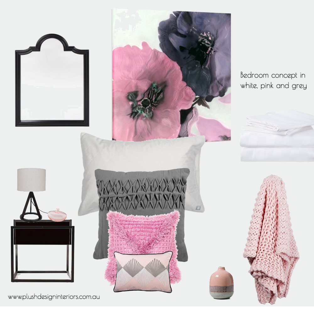 Norton Summit Bedroom 2 Mood Board by Plush Design Interiors on Style Sourcebook
