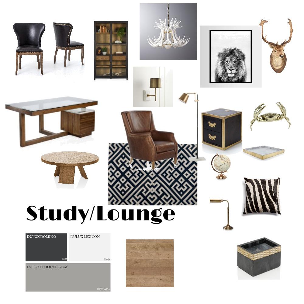 Michael's Office/Gentlemen's lounge Mood Board by Jillian on Style Sourcebook