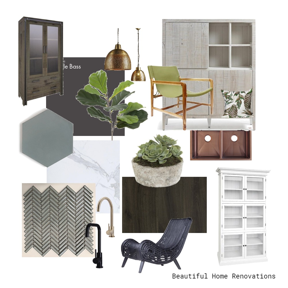 Encaustic Kitchen scheme Mood Board by Beautiful Home Renovations  on Style Sourcebook