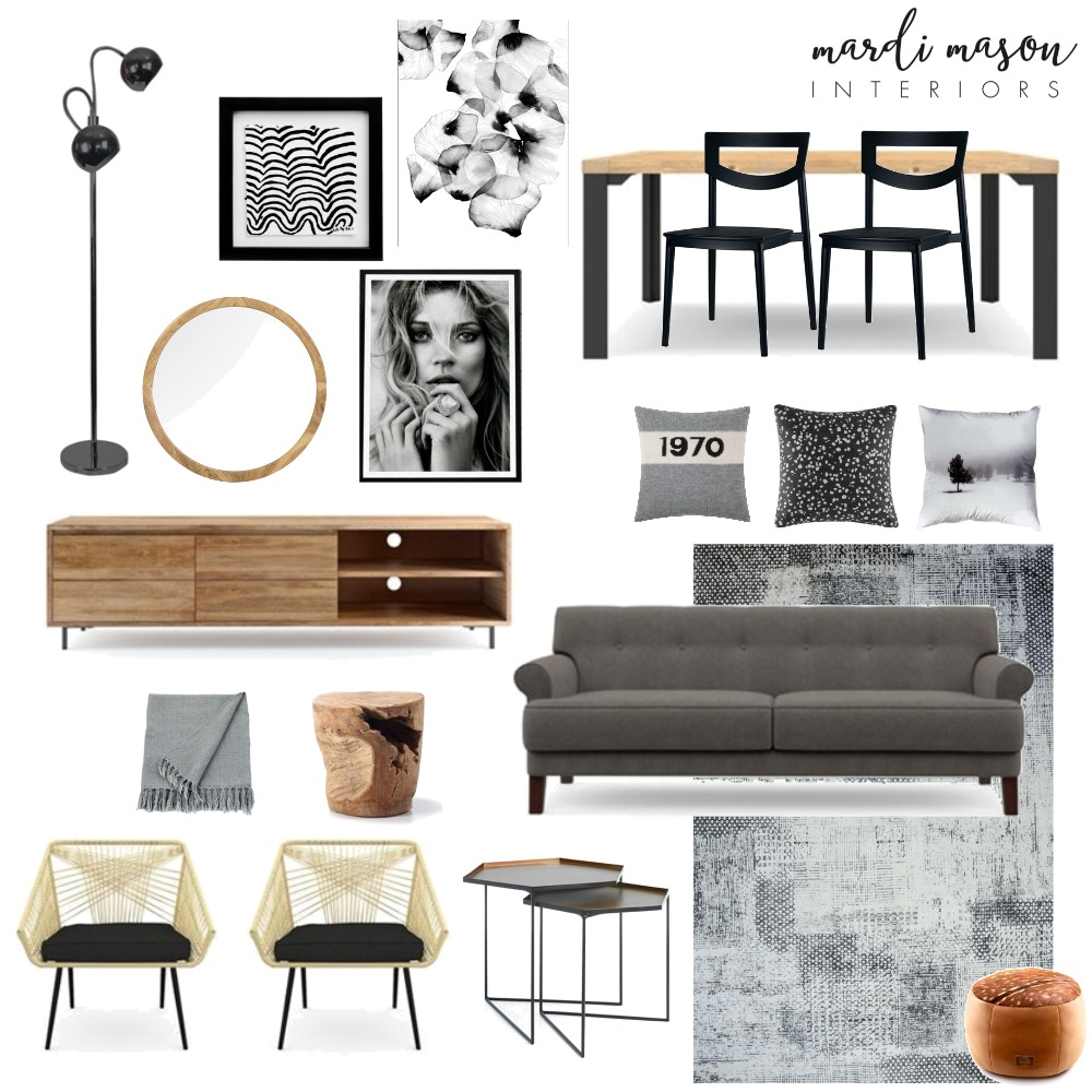 North Carlton Project Interior Design Mood Board by MardiMason on Style Sourcebook