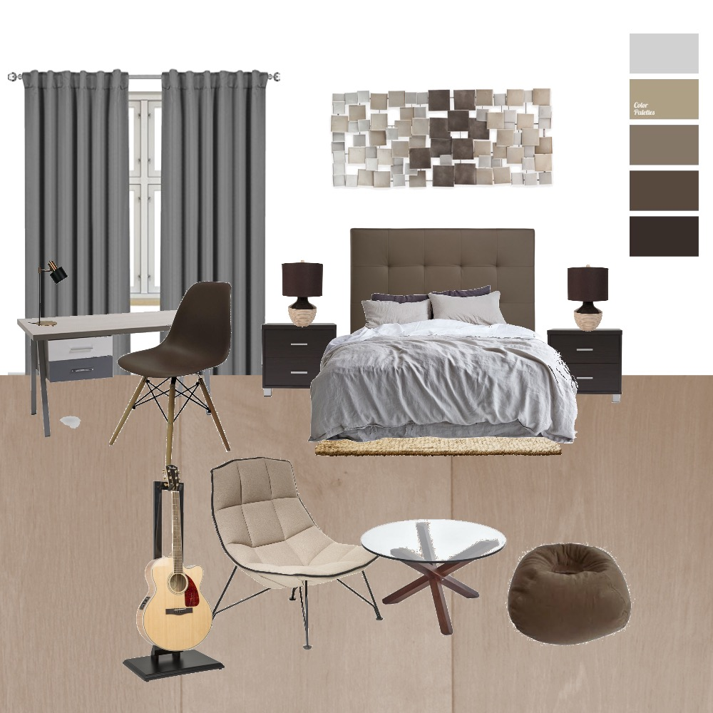 bedroom 2 Mood Board by charmsdanielle on Style Sourcebook