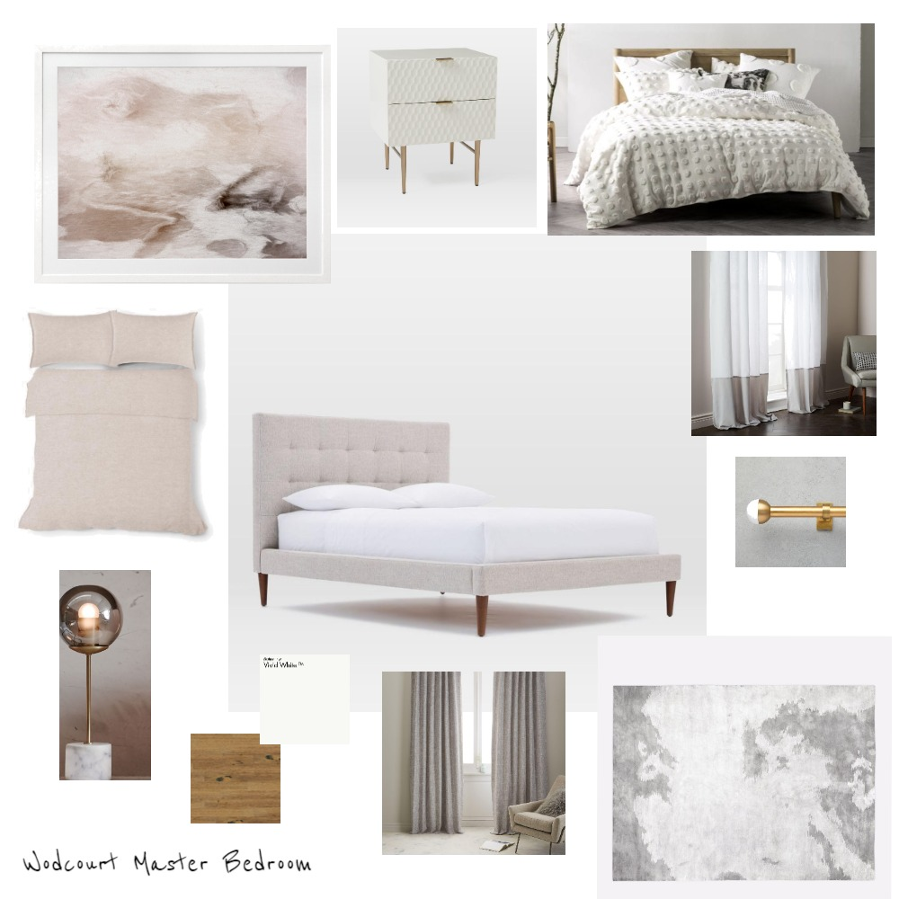 Woodcourt Master Bedroom Mood Board by Kristie on Style Sourcebook