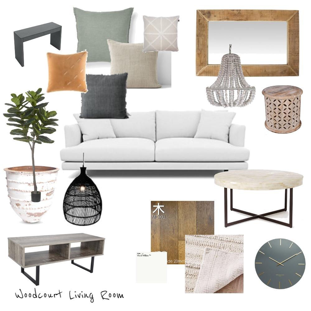 Woodcourt - Living Mood Board by Kristie on Style Sourcebook