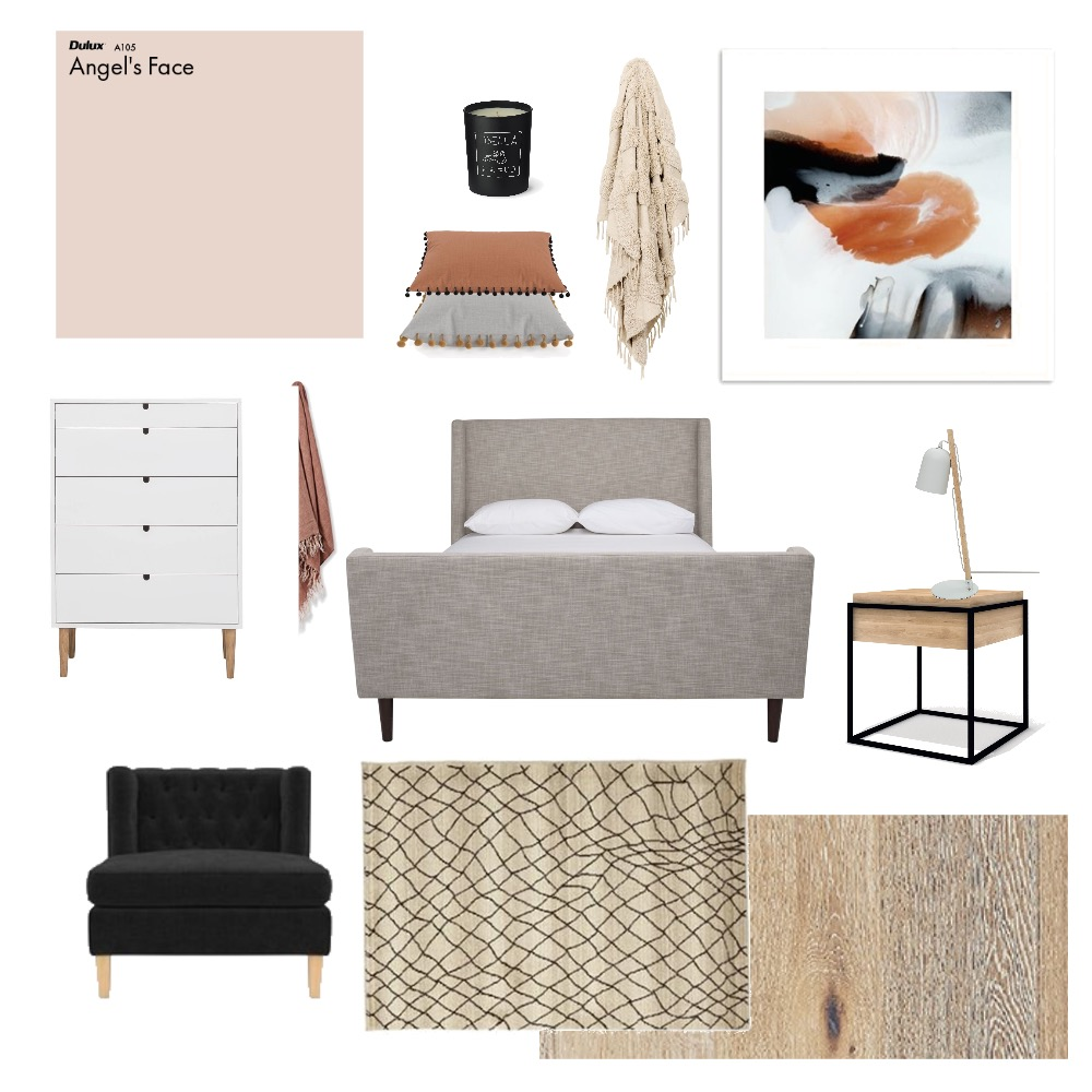 Master Bed Mood Board by JuanitaRose on Style Sourcebook