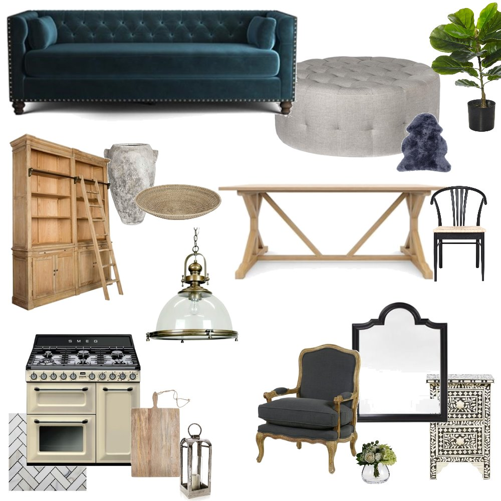 provincial Interior Design Mood Board by Stylehausco on Style Sourcebook