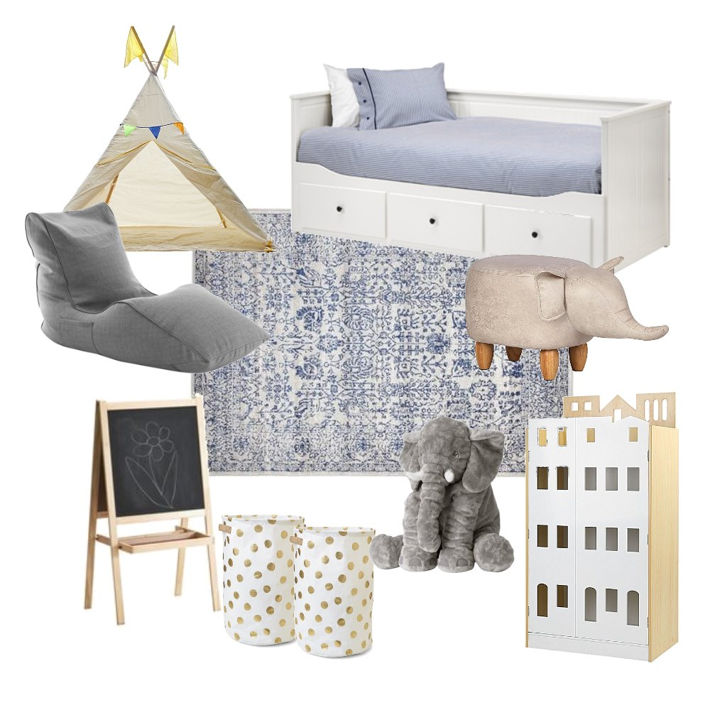Littles Bedroom Mood Board by Sally_I on Style Sourcebook