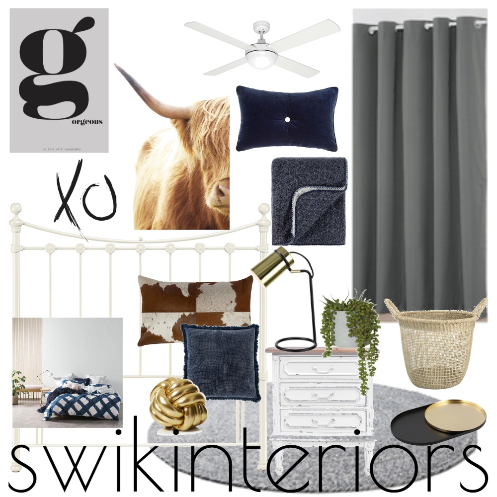 Miss G Bedroom Inspo #4 Mood Board by SWIK Interiors on Style Sourcebook