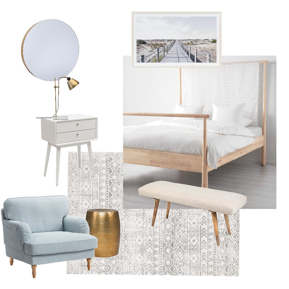 Guest Room Mood Board by Sally_I on Style Sourcebook