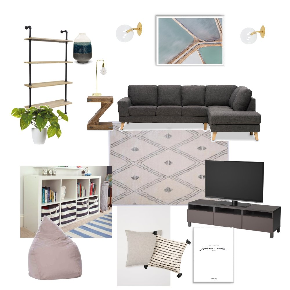 TV/Kids Room Mood Board by Sally_I on Style Sourcebook