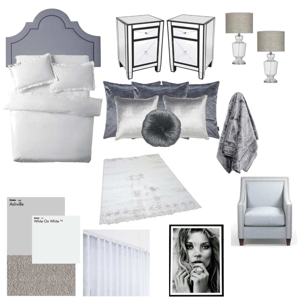 50 shades of grey Interior Design Mood Board by Kimberley689 on Style Sourcebook