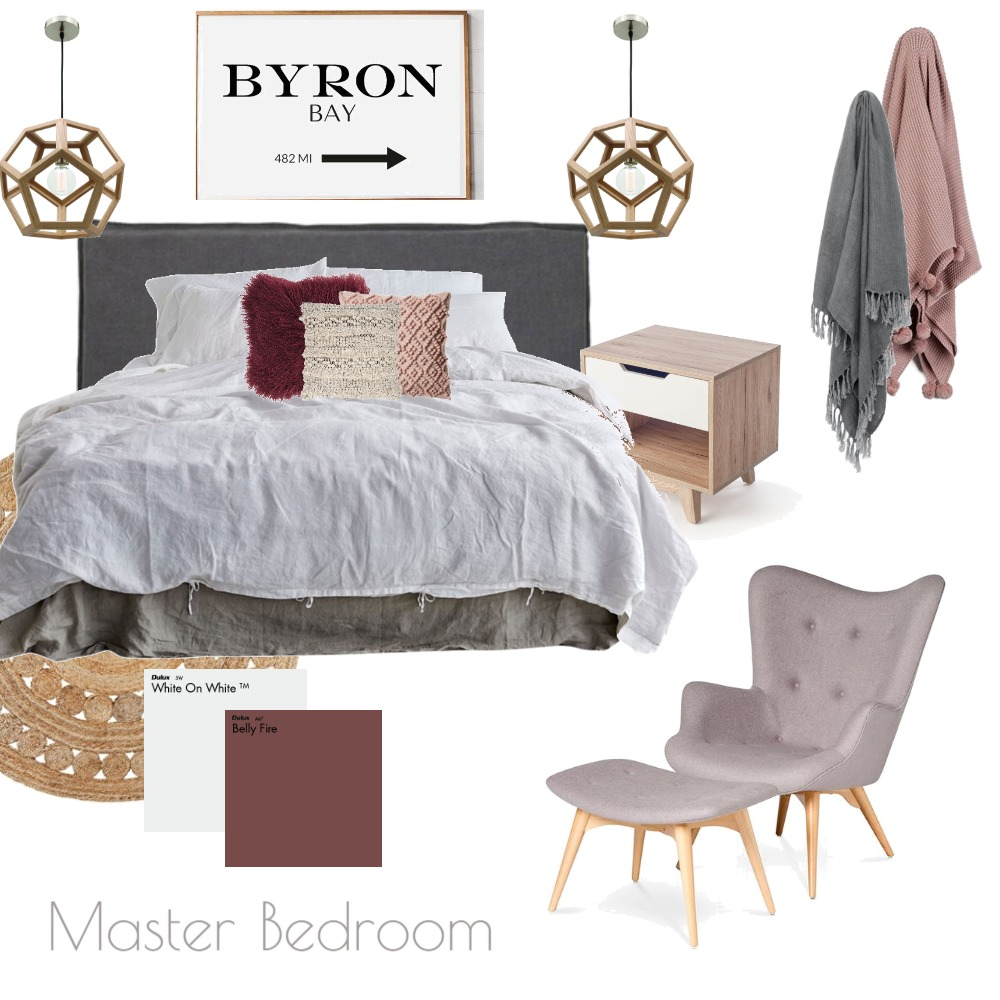 Burbank master bed Mood Board by grace_creative on Style Sourcebook
