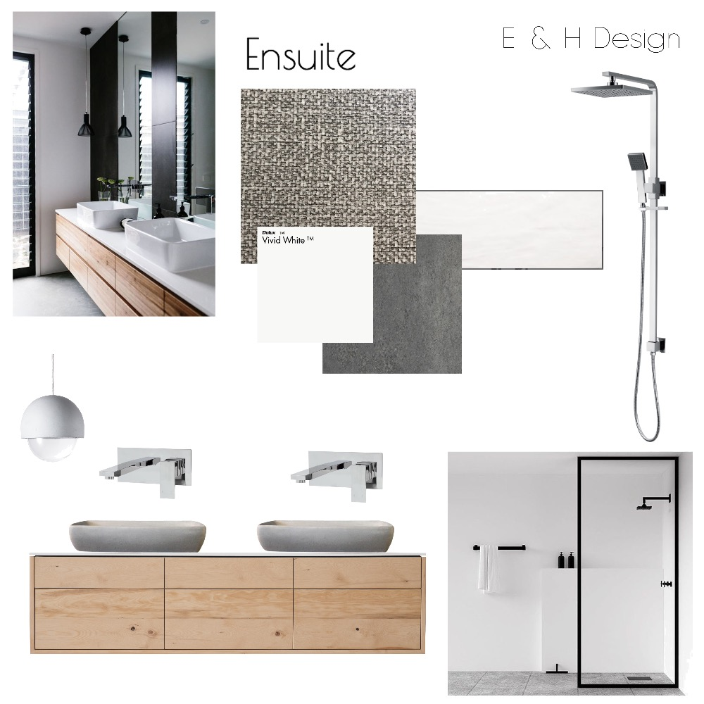 Ensuite Mood Board by E & H Design on Style Sourcebook