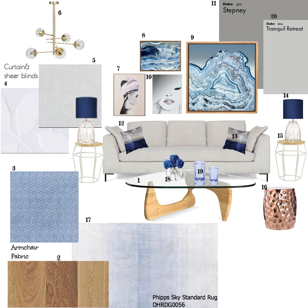 Living room Mood Board by dianahani on Style Sourcebook