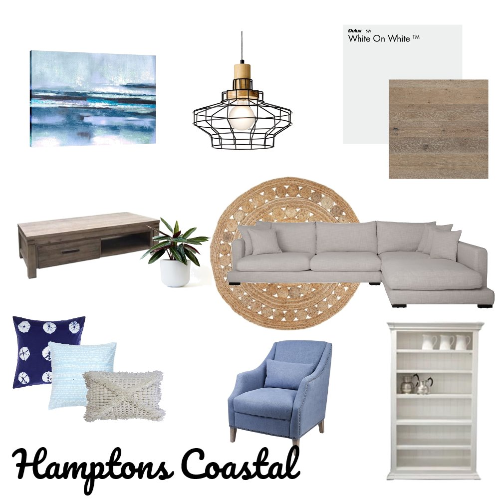 Amy's Hampton Coastal Lounge Room Mood Board by Reneebird on Style Sourcebook