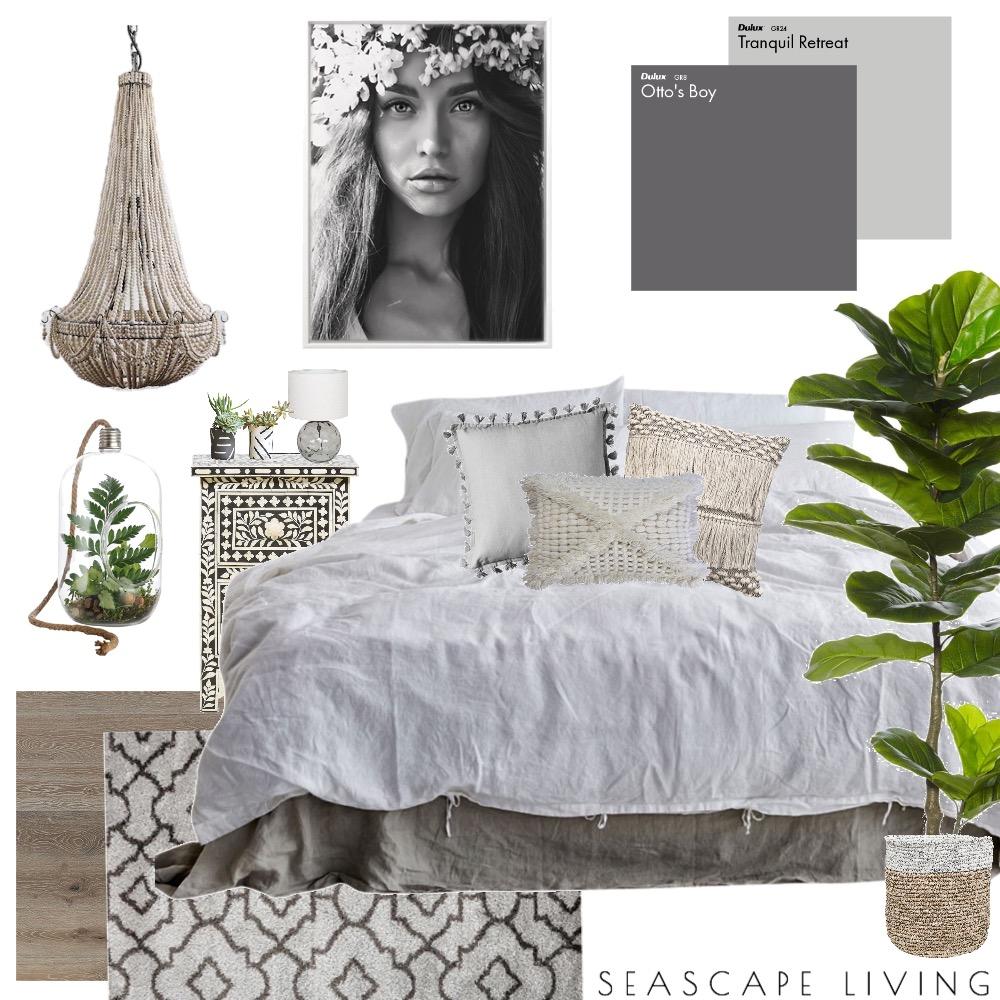 Modern Bohemian Bedroom Mood Board by Seascape Living on Style Sourcebook