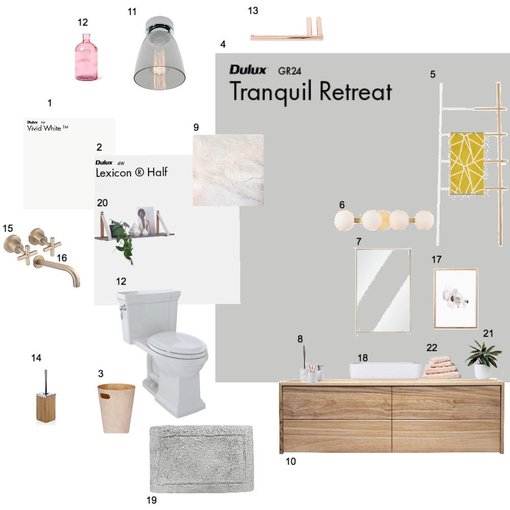 Bathroom Mood Board by dianahani on Style Sourcebook