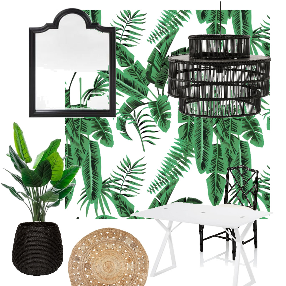 Tropical Office Mood Board by TheBuildersWife on Style Sourcebook