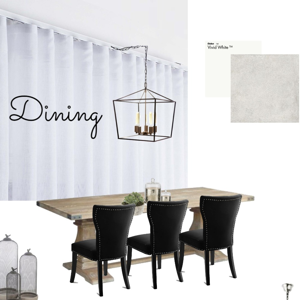 dining Interior Design Mood Board by ivana_hadzi on Style Sourcebook