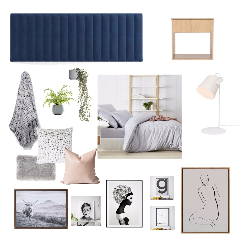 Bedroom Mood Board by Krystle on Style Sourcebook