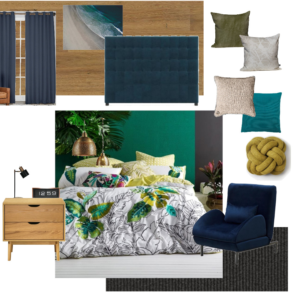 Bedroom greenery Mood Board by chfloral on Style Sourcebook