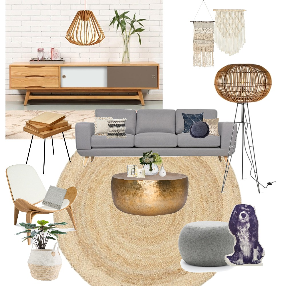 Nordic Living Interior Design Mood Board by tcaries on Style Sourcebook