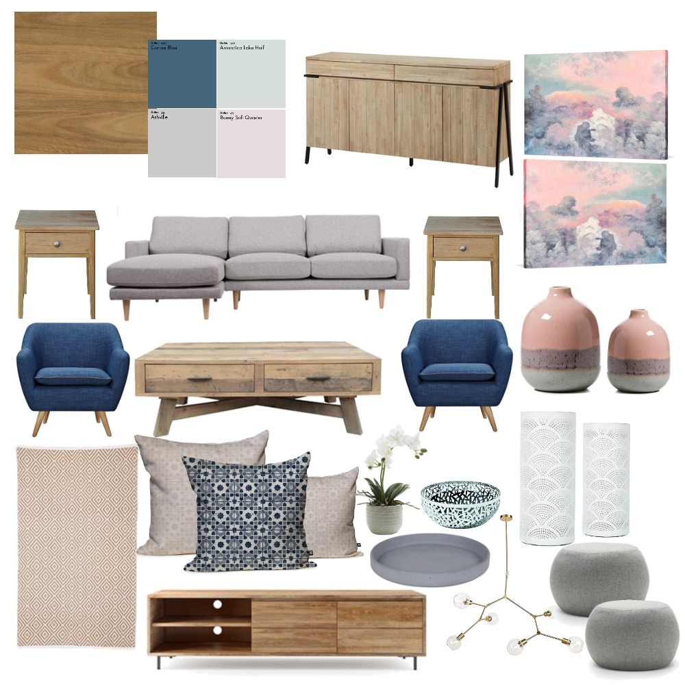Pastel Paradise Mood Board by Tamara_interior_designs on Style Sourcebook