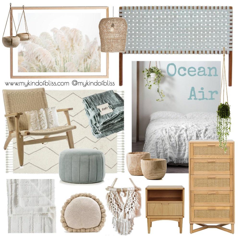 Ocean Air Mood Board by My Kind Of Bliss on Style Sourcebook