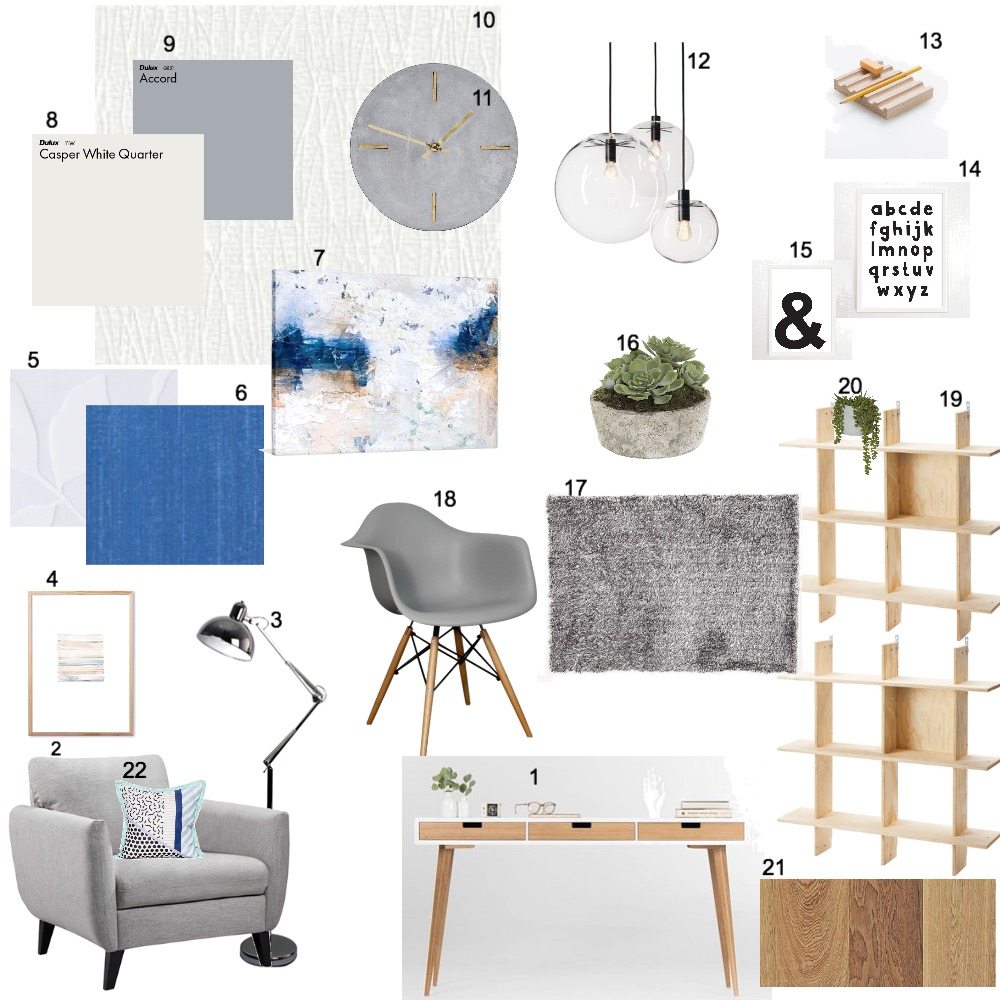 study Mood Board by dianahani on Style Sourcebook