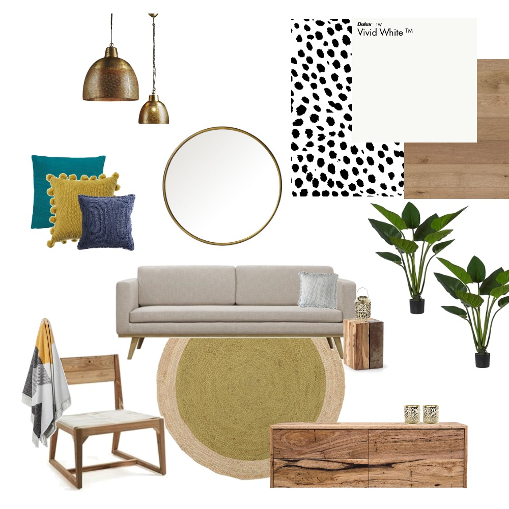 Tiana's Lounge Room Interior Design Mood Board by Reneebird on Style Sourcebook