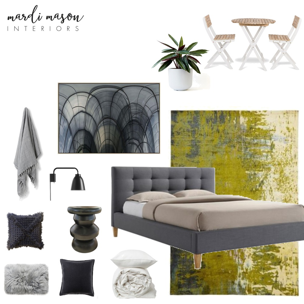 North Carlton Project - bedroom/balcony v2 Mood Board by MardiMason on Style Sourcebook