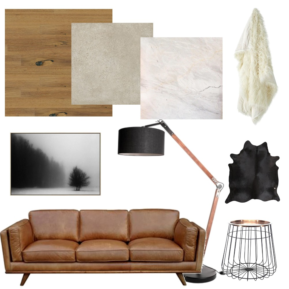 Contemporary Raw Lounge Mood Board by interiorsbyrae on Style Sourcebook