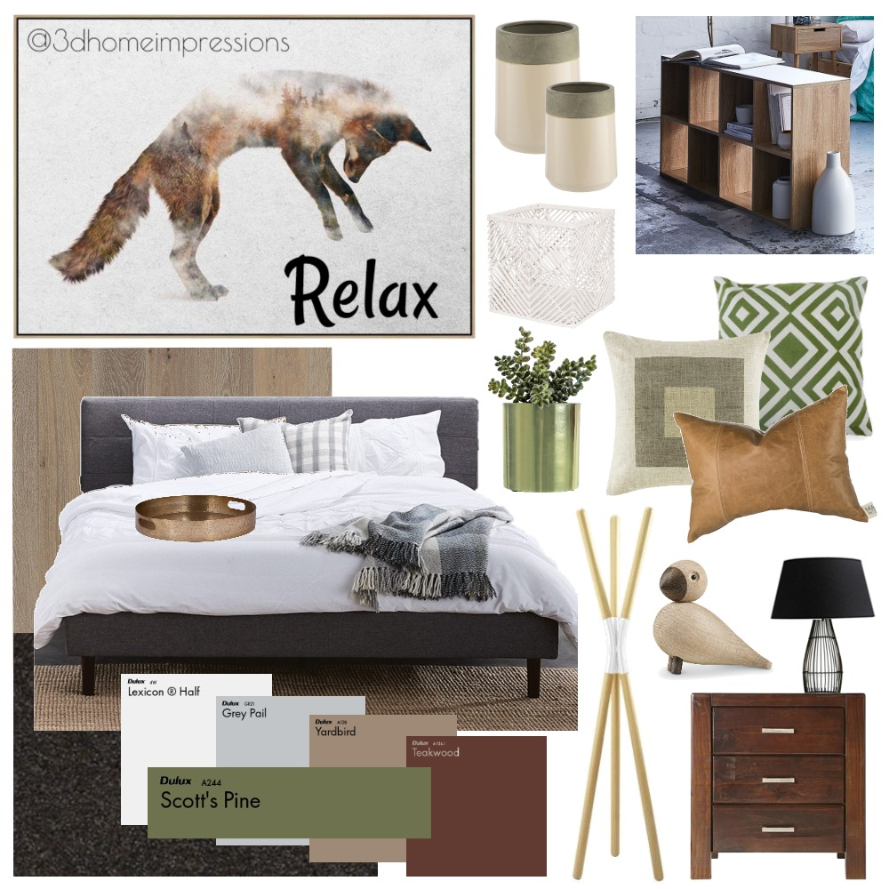 Master Bedroom Mood Board by 3D Home Impressions on Style Sourcebook