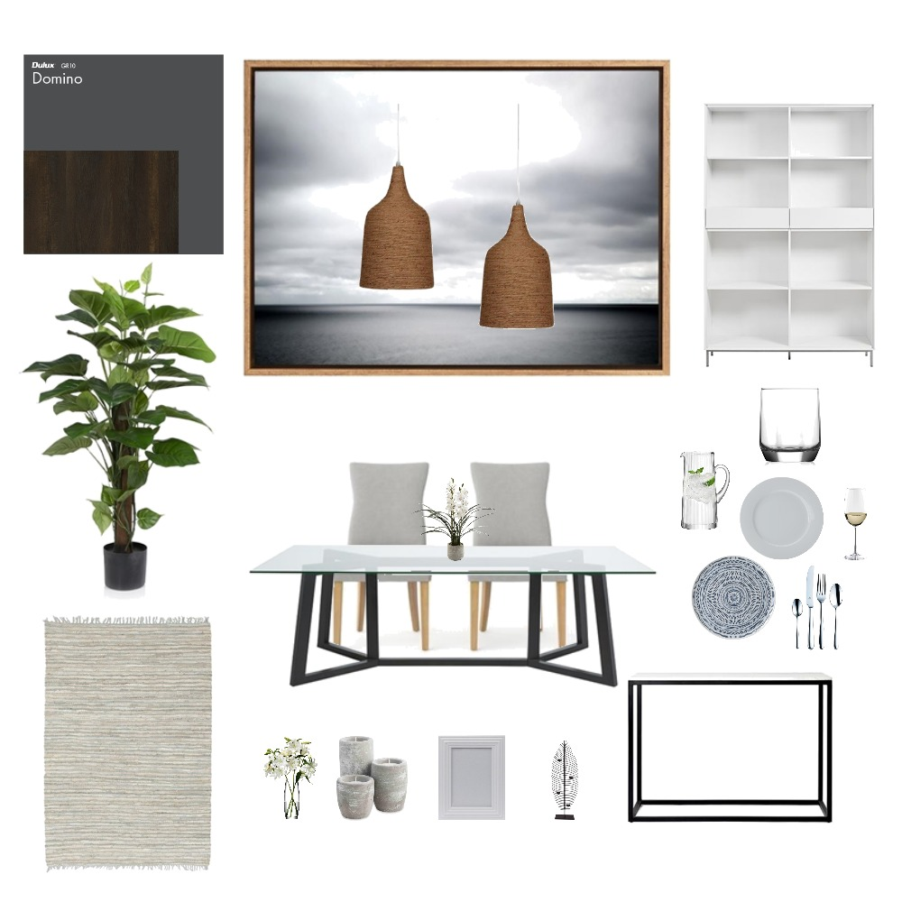 Dining Room Mood Board by kiara_design on Style Sourcebook