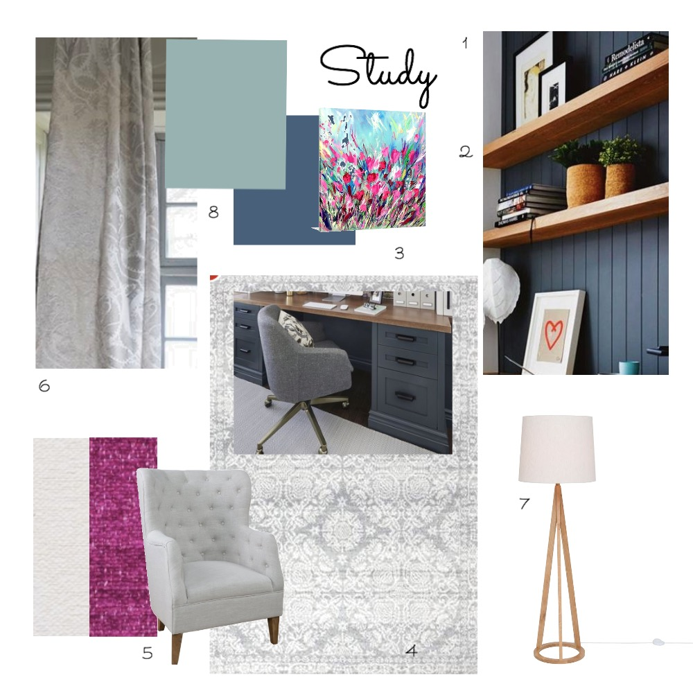 Study Mood Board by Mim on Style Sourcebook