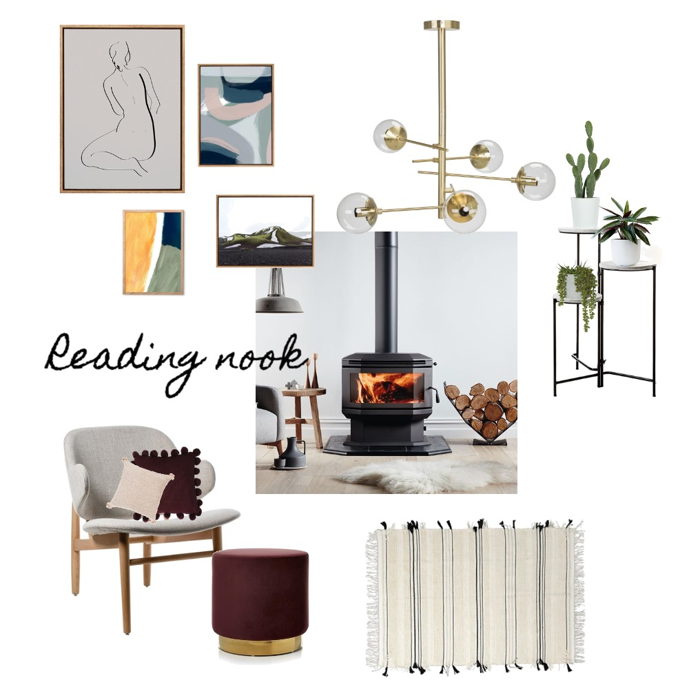 Reading Nook Mood Board by laraannabel on Style Sourcebook