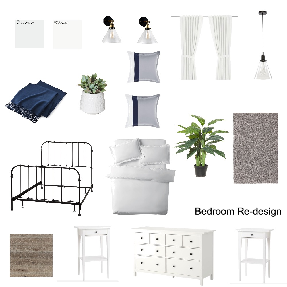 Bedroom Mood Board by amf on Style Sourcebook