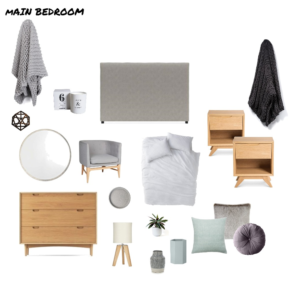 Main Bedroom Mood Board by Ashleigh_091 on Style Sourcebook