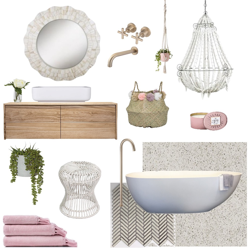 Bathroom goals Mood Board by Two Wildflowers on Style Sourcebook