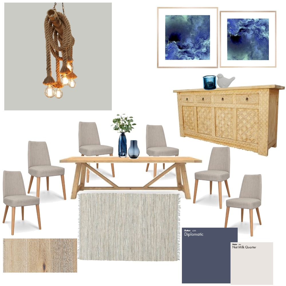 Dinning room Mood Board by Tamara_interior_designs on Style Sourcebook