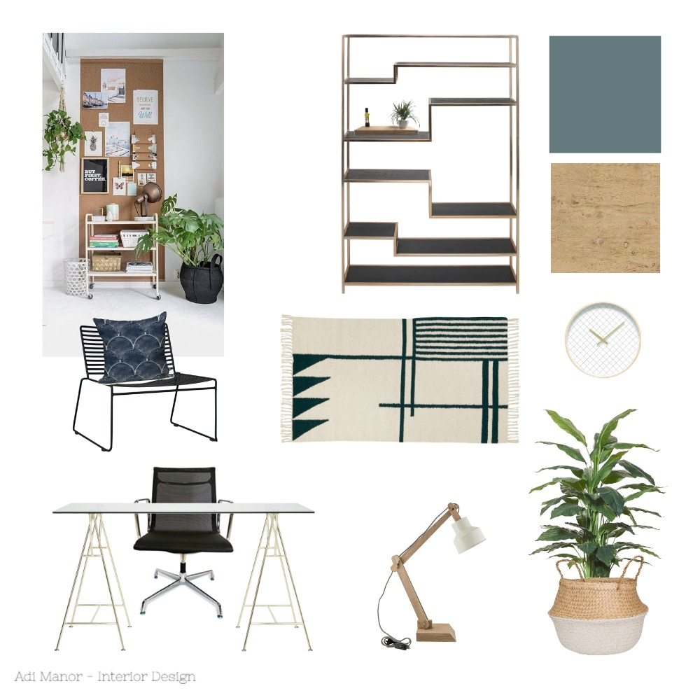 office Mood Board by AdiManor on Style Sourcebook