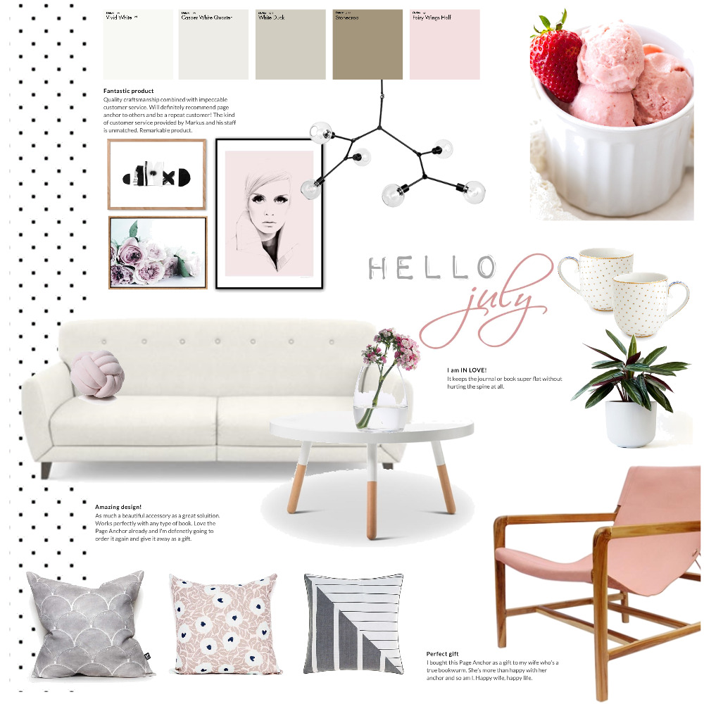 hello july Mood Board by Magdolna Levai on Style Sourcebook
