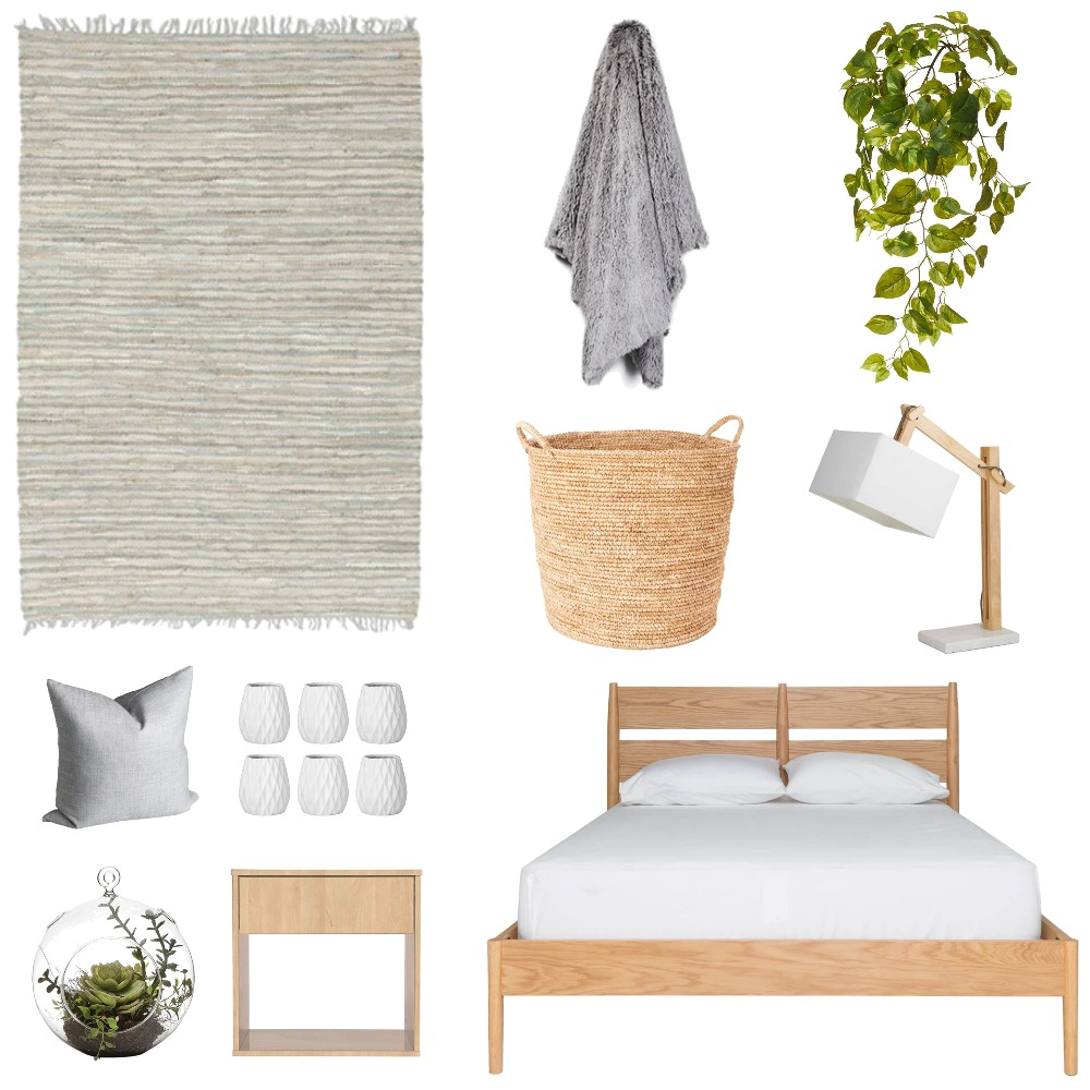 Scandi Bedroom Mood Board by interiorsbyrae on Style Sourcebook