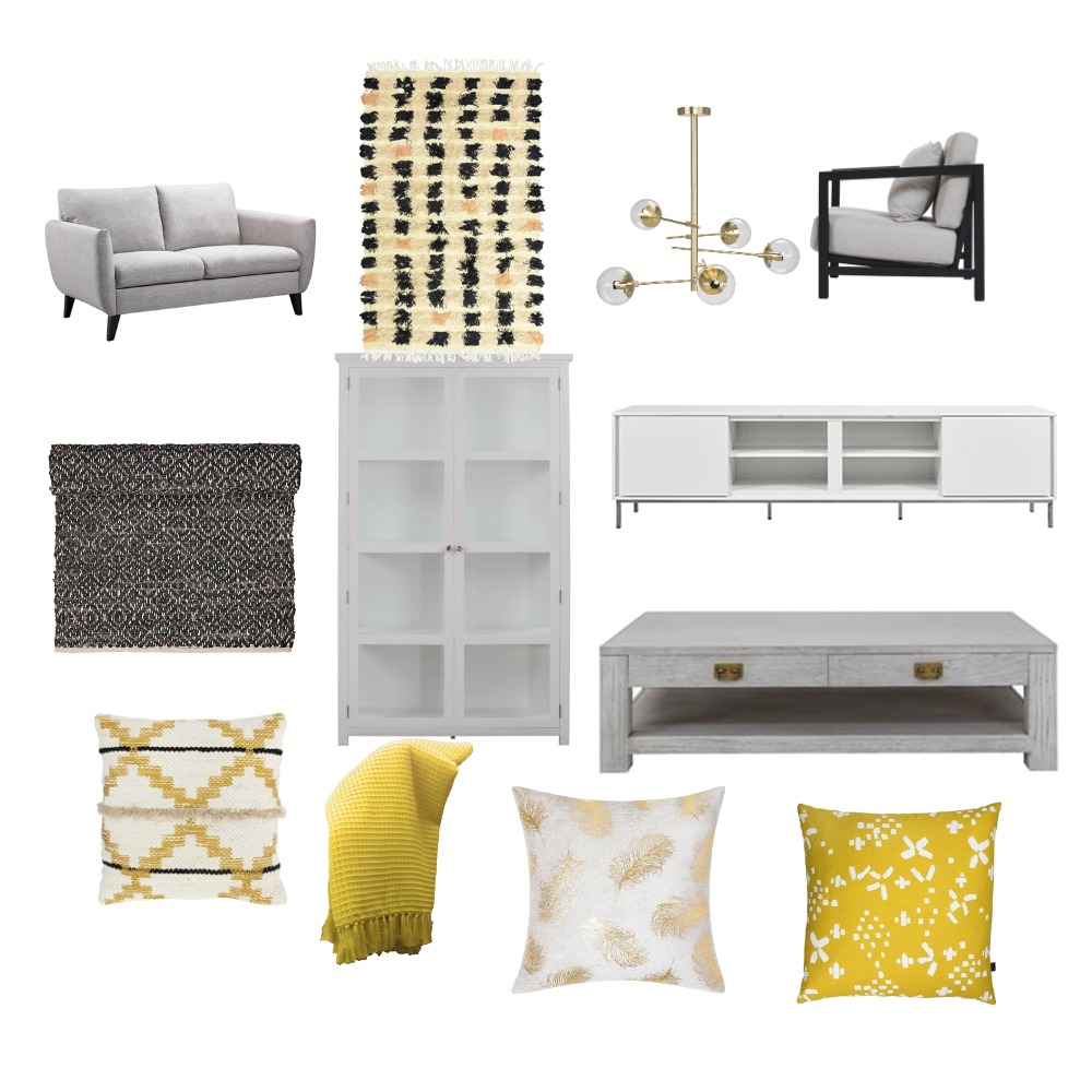living room Mood Board by nailah on Style Sourcebook