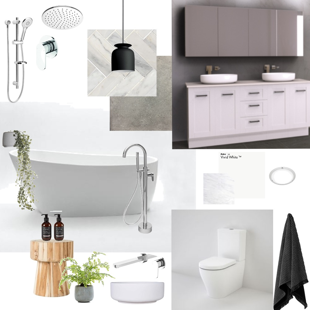 Ensuite Mood Board by Nloveless on Style Sourcebook