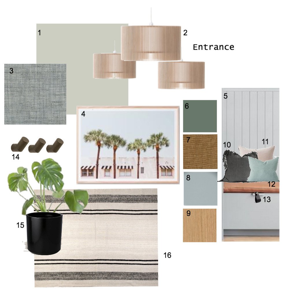 Entrance Mood Board by The Place Project on Style Sourcebook
