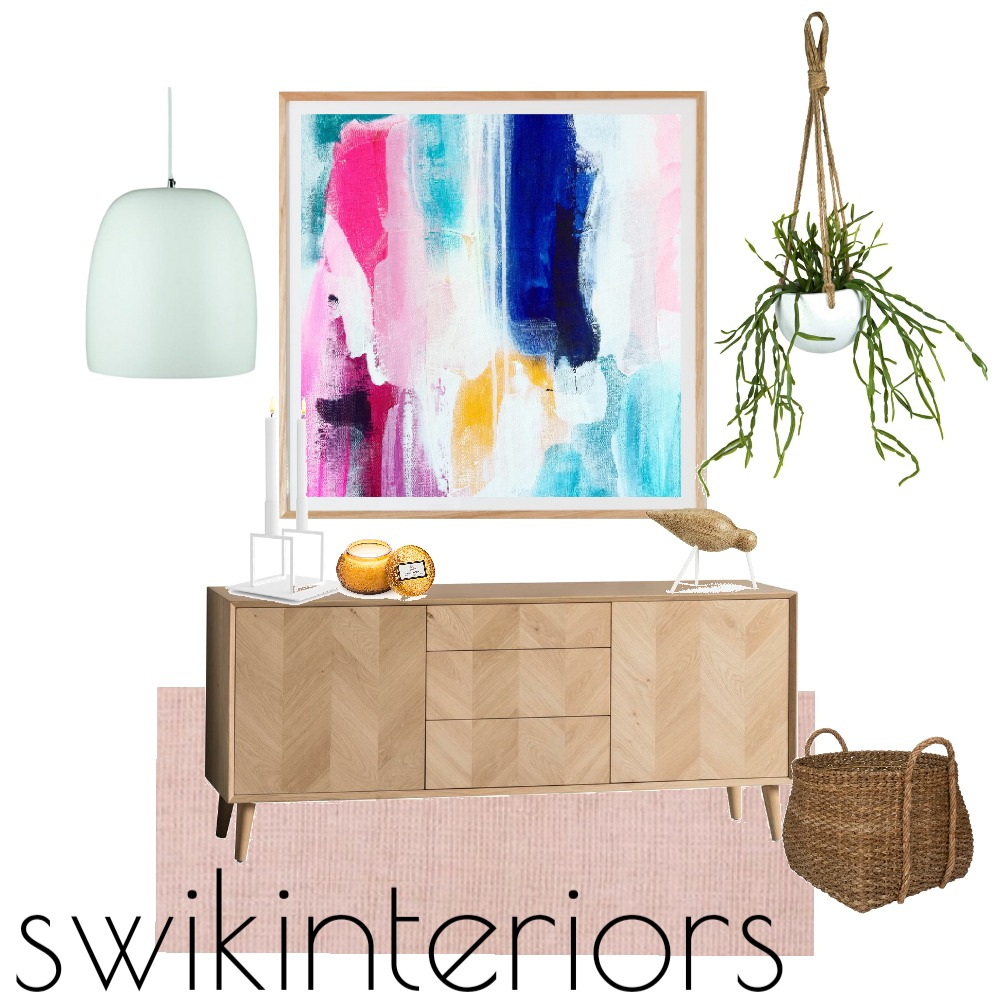 Colour inspired entrance Mood Board by SWIK Interiors on Style Sourcebook