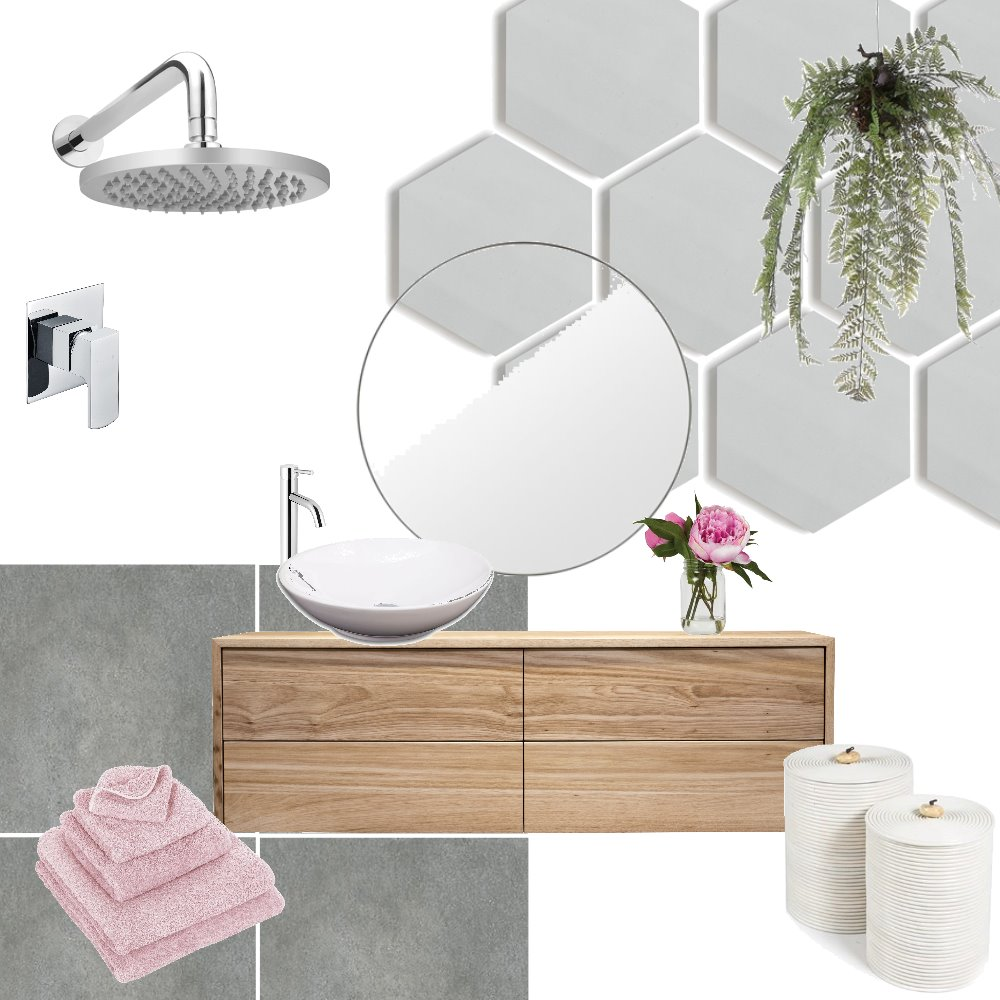 Ensuite Mood Board by laurakrizay on Style Sourcebook